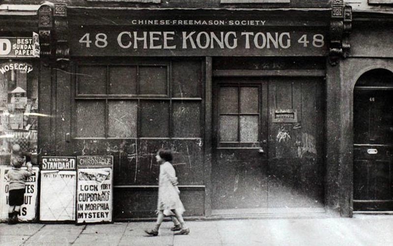 Shop in Limehouse Chinatown