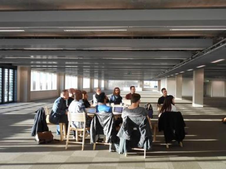 The university negotiates its evolving identity at HereEast