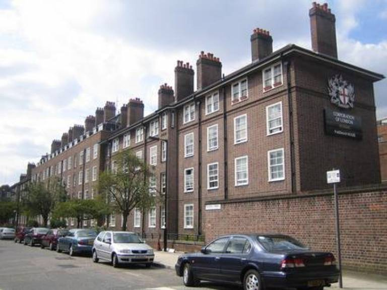 Pakeman House, SE1: housing block owned by the Corporation of London