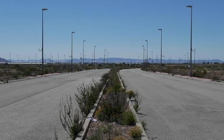 Suspended urbanization in Murcia, Spain (Diego Garcia-Mejuto, 2019)