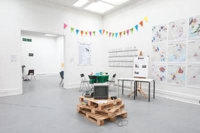 Cities Methodologies 2014 studio five - installation view