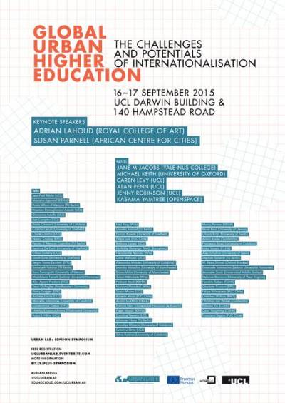 Global Urban Higher Education: the Challenges and Potentials of Internationalisation