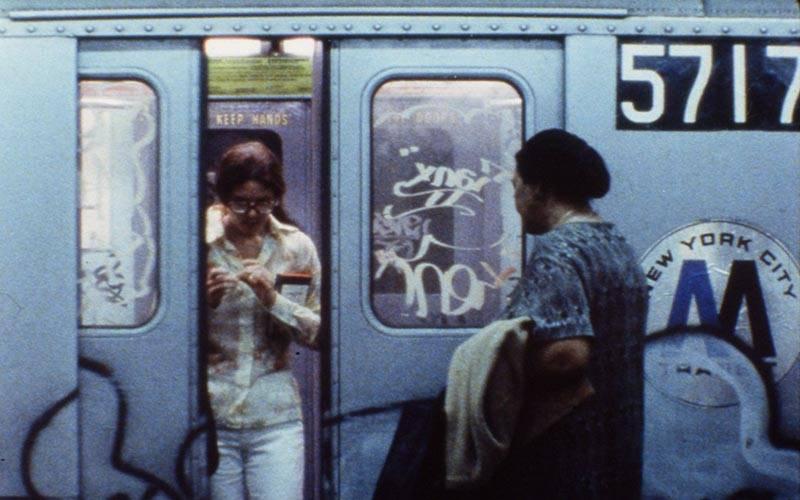 Still from News from Home by Chantal Akerman, courtesy of Koninklijk Belgisch Filmarchief - Cinémathèque Royale de Belgique