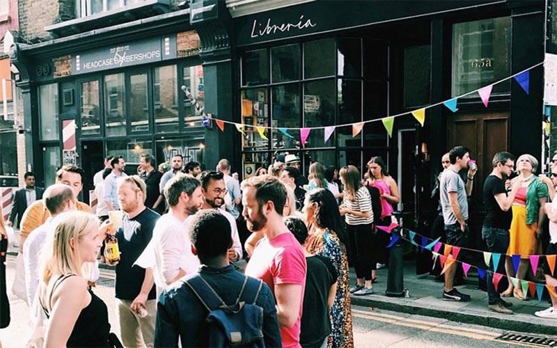 Second Home Event on Hambury Street