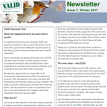 A picture of the Winter 2017 Newsletter