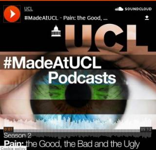 MadeAtUCL Podcast S2 Ep3: Pain: The Good, the Bad, and the Ugly