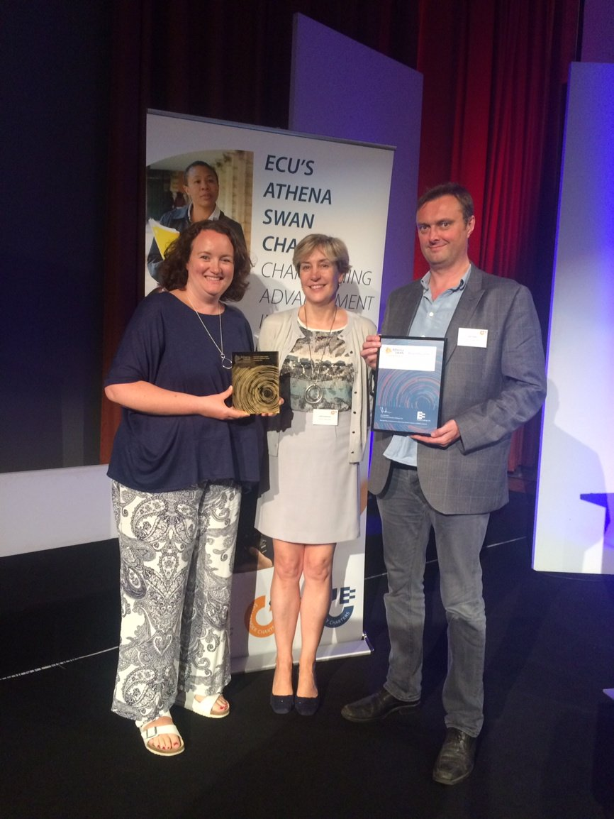 Athena SWAN gold award ceremony