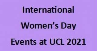 EGA International Women's Day 2021 Events