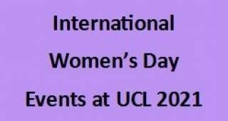 EGA International Women's Day 2021 Events