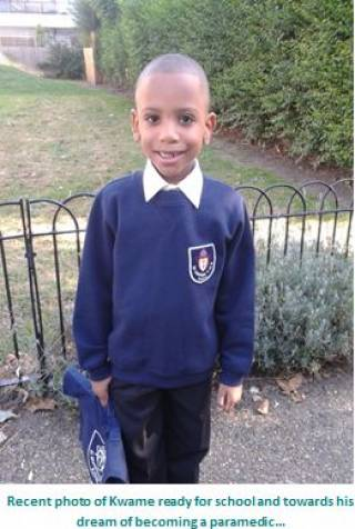 Kwame 6 years - our young people