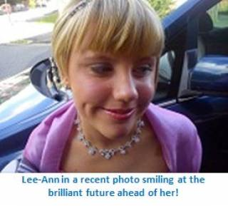 Lee-Ann older - our young people