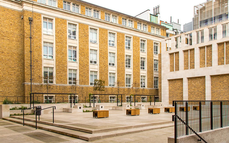 Wilkins Terrace at UCL